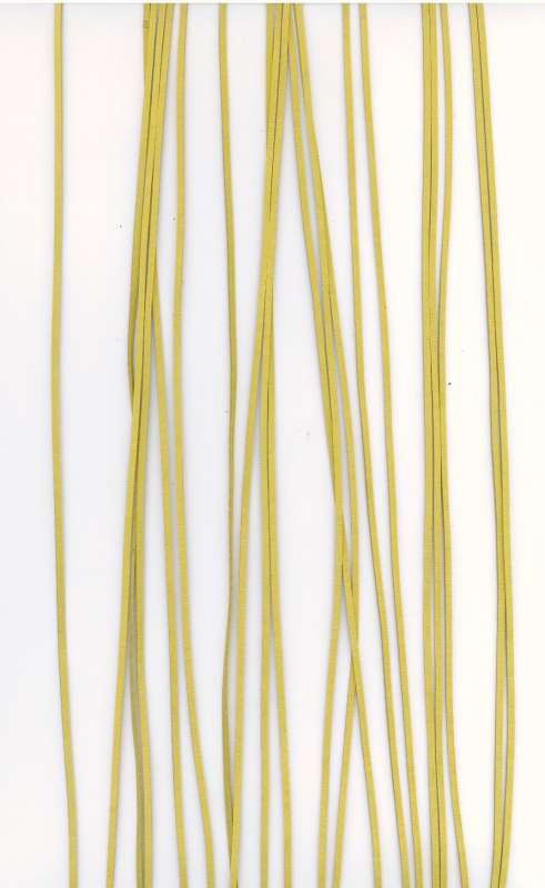 Kožený řemínek žlutý Více výrobců - doplňkový sortiment