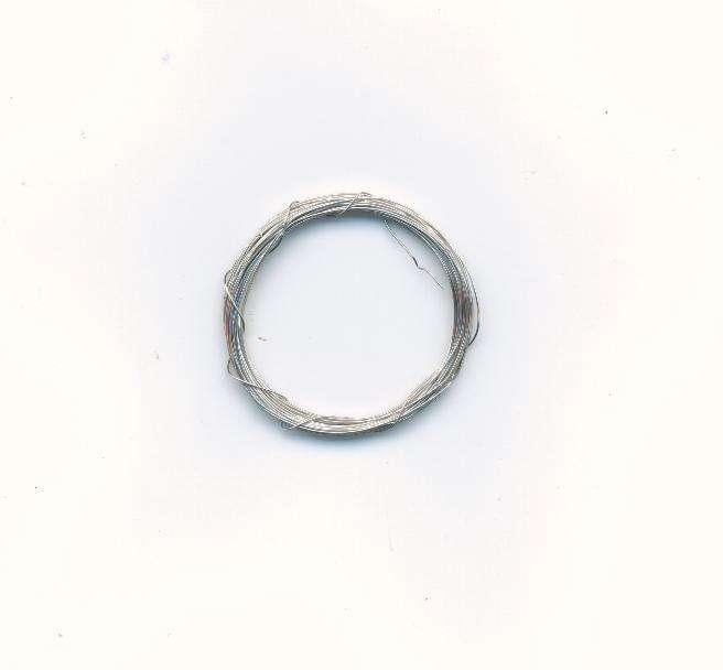 Dekorativní drát barva stříbrná síla 0,3mm délka 5m. Více výrobců - doplňkový sortiment