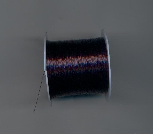 Silonový vlasec černý bižuterie