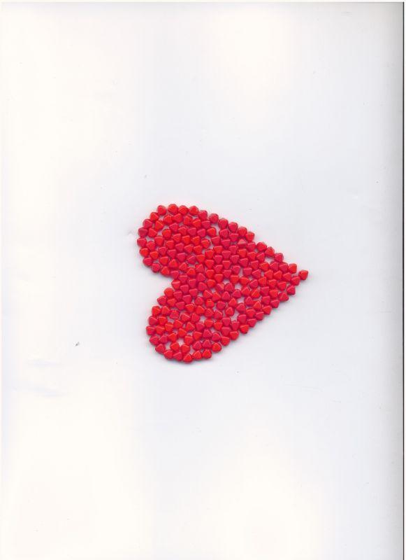 Korálky lampičky 6mm rubín lesk 100gr. II.j. Firma Petr Machačka - výroba skleněné korálky