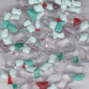 Skleněná drť mix dle obrázku  1KG